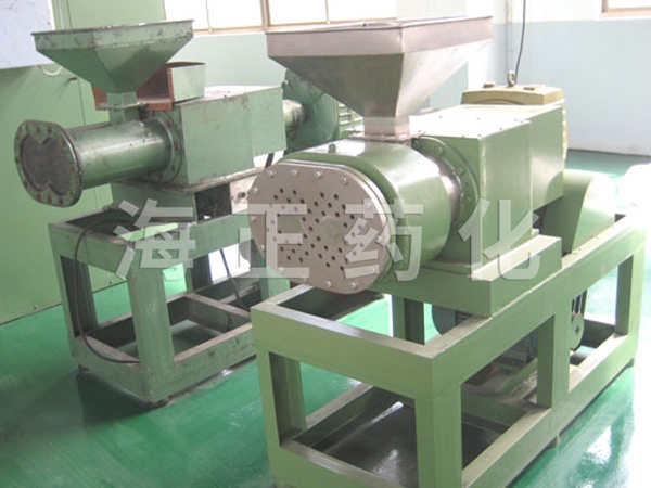 苦荞制粒专用螺杆挤压造粒机