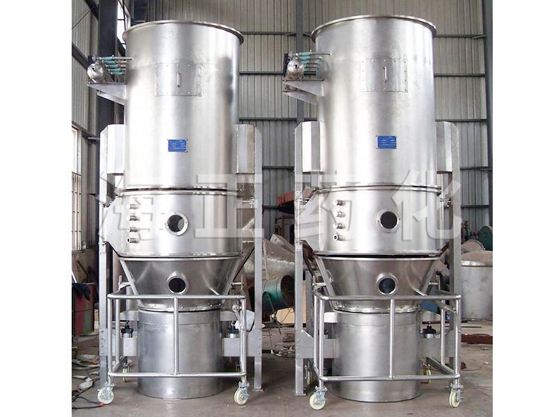 甜菊糖专用高效沸腾干燥制粒机